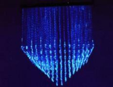 Fibre Optic chandelier - PYRAMID